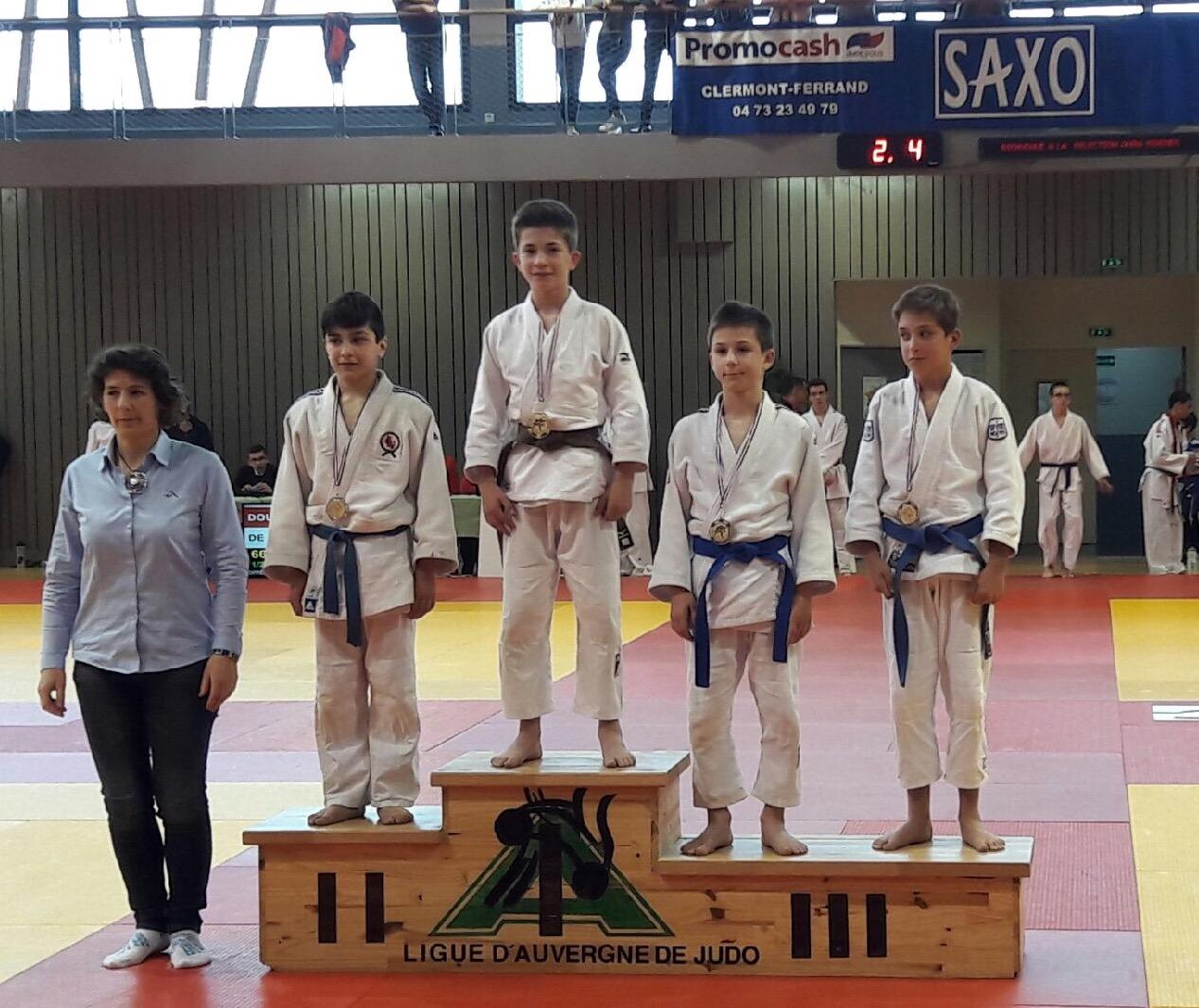 club judo clermont ferrand