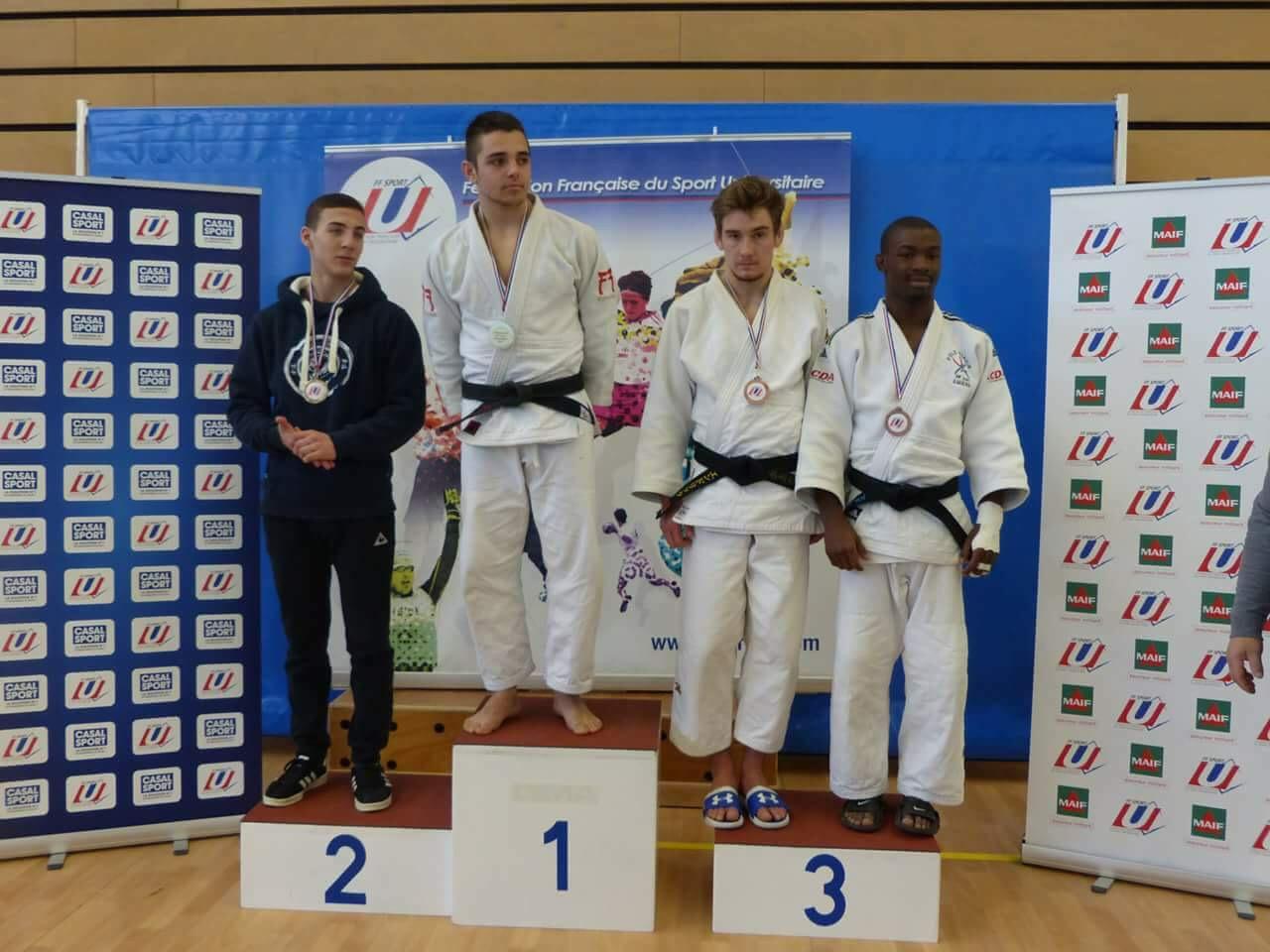 club judo universitaire